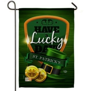 Have a Lucky Day Garden Flag