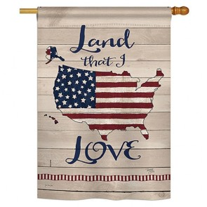 Land I Love House Flag