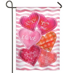 Love Together Forever Garden Flag