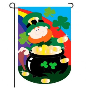 Lucky Irish Garden Flag