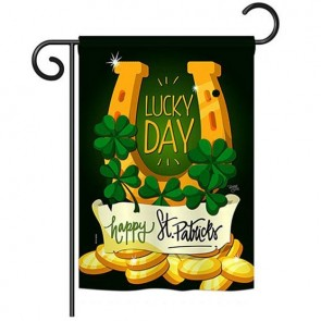 Lucky Day Garden Flag