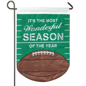 The Most Wonderful Season Garden Flag