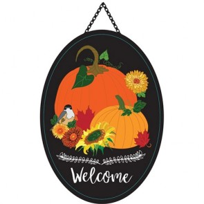 Pumpkins Welcome Door Banner