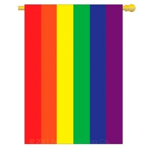 Rainbow House Flag