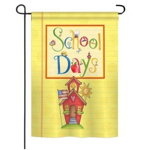 School Days Garden Flag