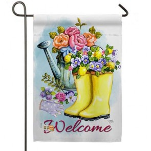 Spring Shower Garden Flag