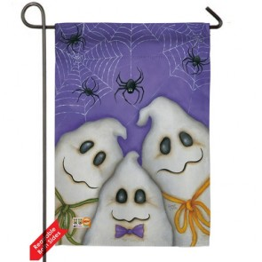 Three Ghosts Garden Flag