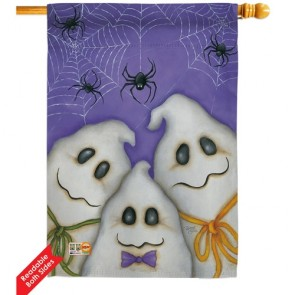 Three Ghosts House Flag