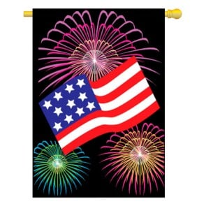 U.S. Fireworks House Flag