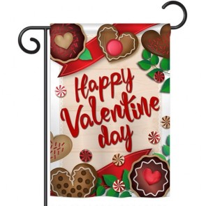 Very Sweet Valentine's Day Garden Flag