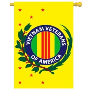 Vietnam Veterans House Flag