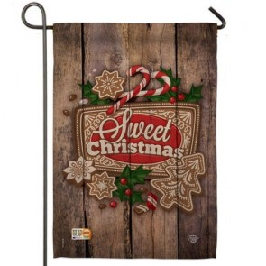 Winter Sweet Christmas Garden Flag